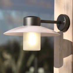 Aubanne Wall Lamp Dark Grey