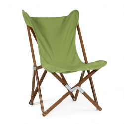 Tripolina Lounge Chair | Apple Green