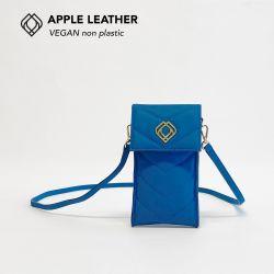 Handytasche - Apfelleder | Königsblau