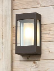 Brick Outdoor Wall Lamp Roost