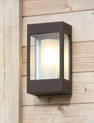 Brick Outdoor Wandlamp Roest