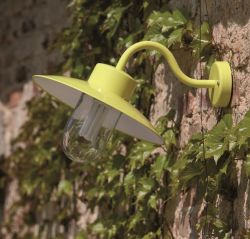 Belcour Outdoor Wall Lamp Yellow