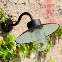 Belcour Outdoor Wall Lamp Black