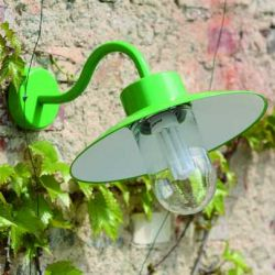 Belcour Outdoor Wall Lamp Green