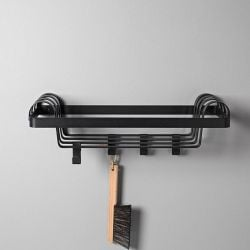 Arches Mini Coat Rack | Black