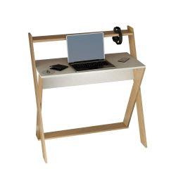 Schreibtisch Terra | Weiße Eiche