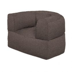 Pouf Armstrong | Wool | Brown