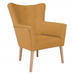 Armchair Flamenco 1 Seat | Gold
