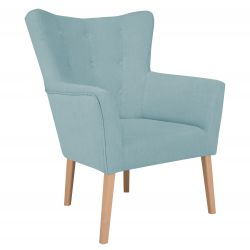 Armchair Flamenco 1 Seat | Blue