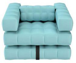Armchair | Aqua Blue