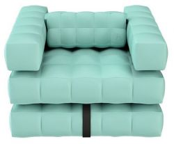 Armchair | Aquamarine Green
