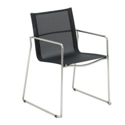 Asta Stacking Armchair | Charcoal