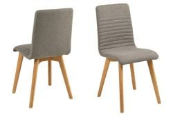 Chairs Arosa Set of 2 | Grey