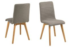 Chaises Arosa Set de 2 |Gris