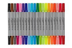 Künstlerset mit 20 Auswaschstiften