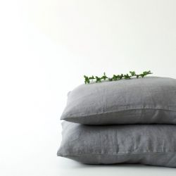 Pillow Case | Ash Grey