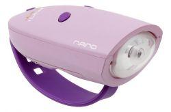 Fahrradlicht Mini Hornit Nano | Pink Violett