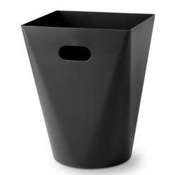 Wastepaper Bin Square | Black