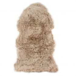 New Zealand Sheepskin Pelt | Light Brown