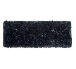 Sheepskin Rug Long | Black