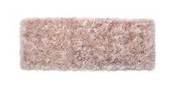 Schafsfell-Teppich lang | Hellbraun