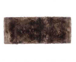 Schafsfell-Teppich lang | Taupe