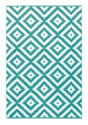 Indoor/Outdoor PET Rug Ava | Turquoise