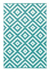 Indoor/Outdoor PET Rug Ava | Turquoise