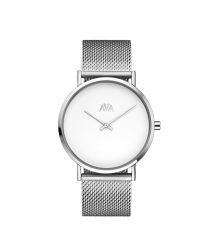 Unisex Watch Mani | Silber & Weiß