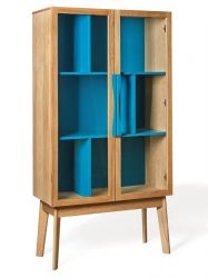 Avon Display Cabinet | Blue