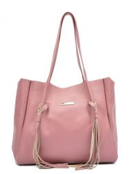 Sac Shopper N°1165 | Rosa Scuro
