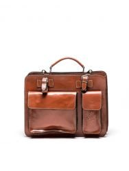 Top Handle Bag N°305 | Cognac