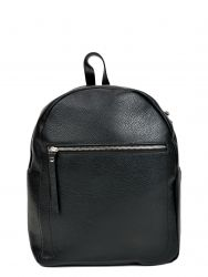 Leather Backpack | Black