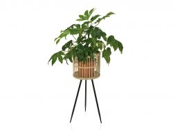 Pflanzenhalter Bambus