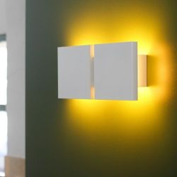 Wall Lamp | Square 2 G | White