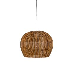 Pendant Lamp Rattan Bell | Natural
