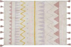 Rug Azteca | Vintage Pink