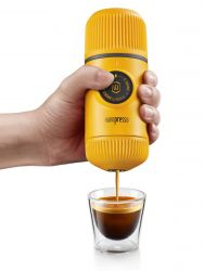Tragbare Espressomaschine Nanopresso | Gelb