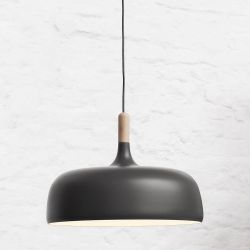 Pendant Lamp Acorn | Grey