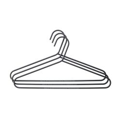Clothes Hanger Set of 3 | Black