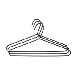Kleiderbügel 3er-Set | Schwarz