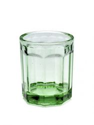 Drinking Glass D7,5 H9 Medium | Transparent Green