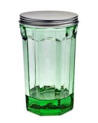 Topf mit Deckel Groß 150 cl | Transparentes Grün