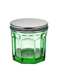 Jar with Lid Small 75 cl | Transparent Green