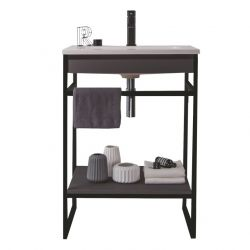 Bathroom Cabinet Loom-B 60 | Dark Grey