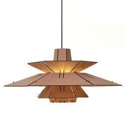 Pendant Lamp PM5 | Natural & Pink