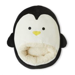 Fußwärmer Pingu | Schwarz