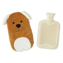 Hot Water Bottle Woof | Brown