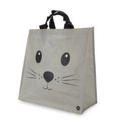 Shopping Bag Kitty | Grey