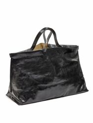 Shopper XL | Leather | Black